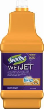 Swiffer® WetJet Anitbacterial Floor Cleaner, 1.25 L