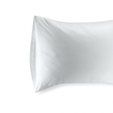 "Gold + Cross™ 8"" Flap Pillow Protector King Size 21"" x 36"" White - Pack of 12"
