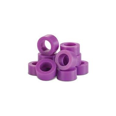 Plasdent Code Rings Small Purple 60/box