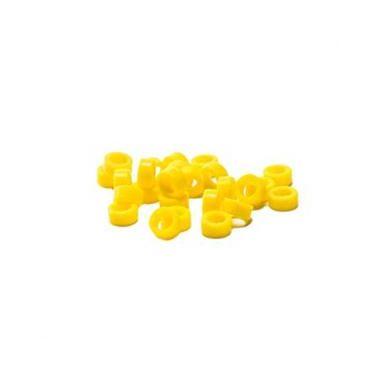Plasdent Code Rings Small Yellow 60/box