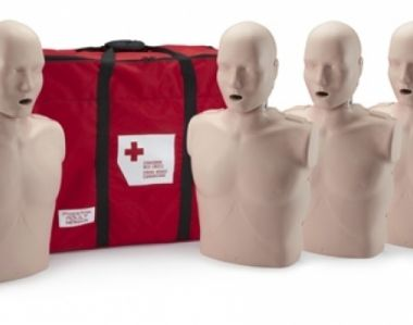 PRESTAN PROFESSIONAL ADULT MEDIUM SKIN CPR-AEDs TRAINING MANIKINS 4-PACK WITHOUT CPR MONITOR