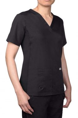 Mobb® 624T - Stretch Back V Neck Scrub Top