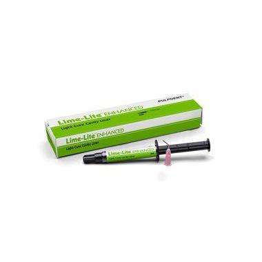 PulpDent Lime-Lite Enhanced Light Cure Cavity Liner 3ml Syringe + 20 Tips