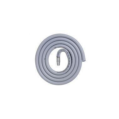 Silicone Tubing Adatper Set (Stainless steel adapter and 5' autoclavable Silicone tubing)
