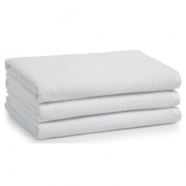 Renaissance™ by Regency 100% Cotton Full Terry Hospitality Bath Towel 27 x 54 wt. 14.00 lbs/dz. White 12/Pack