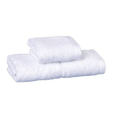 Regal™ 86/14 Luxury Combed Cotton/Polyester Dobby Hem Face Towel 12x12 wt. 1.35 lbs/dz. White