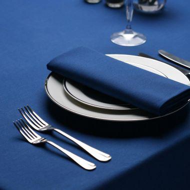 "Milliken® Signature Series™,Tablecloths,54"" X 96"",Royal Blue"