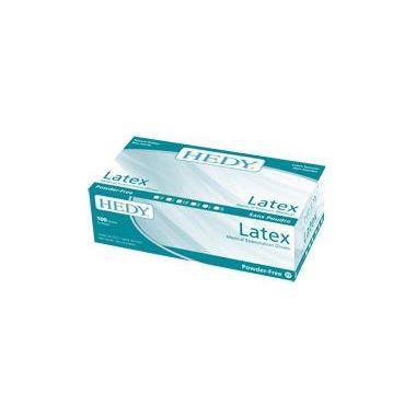 Hedy Latex Powder Free Gloves 100/box - Small