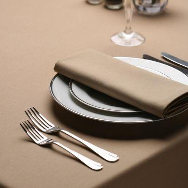 LinenPlus® Endurance™ Revolutionary,Tablecloths,SandleWood (7597)