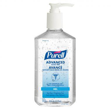 PURELL® Advance Hand Rub Gel 354 mL Pump Bottle (3770-12-CAN00)