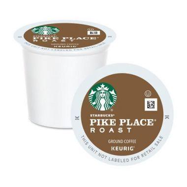 Starbucks-Decaf Pike Place K-Cups® EDKSBPIKE24