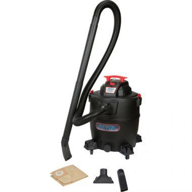 Industrial Vacuum, Wet-Dry, 6, 16 US Gal.(60.5 Litres)