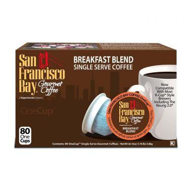 San Francisco CoffeeBreakfast Blend EDKSFBBREAKBL80