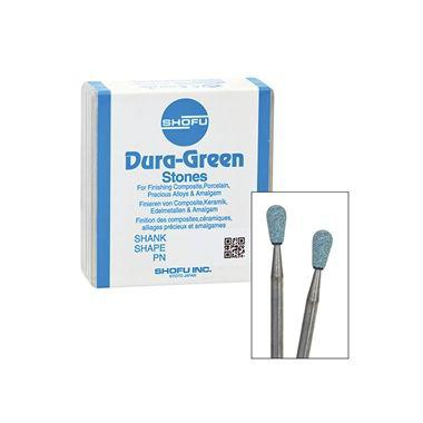 Shofu Dura-Green Polishing Stones HP RD3 12/pkg