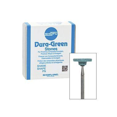 Shofu Dura-Green Polishing Stones HP WH6 12/pkg