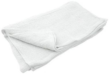 "Shop Towel 18"" X 18"", Heavy Weight , Unbleached"
