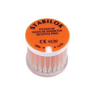 Stabilok Standard Titanium Orange Kit, 20 Pins, 1 Drill