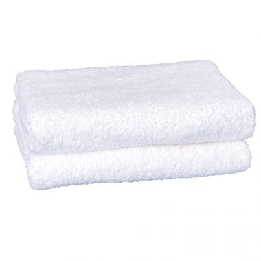 Adonis™ Full Terry Ring Spun Cotton Hand Towels 28x16 wt. 3.60 lbs/dz. White 12/Pack