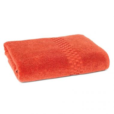 Jacquard Premium 100% Combed Cotton Bath Sheet 30x60 wt. 18.0 lbs/dz Coral