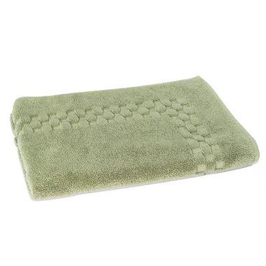 Jacquard Premium 100% Combed Cotton Bathmats 20x30 wt.11.00 lbs Sage 3/Pack
