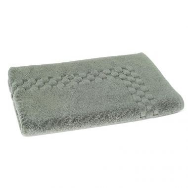 Jacquard Premium 100% Combed Cotton Bathmats 20x30 wt.11.00 lbs/dz. Dove Grey 3/Pack