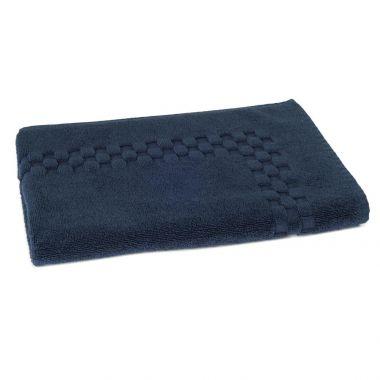 Jacquard Premium 100% Combed Cotton Bathmats 20x30 wt.11.00 lbs Abyss 3/Pack