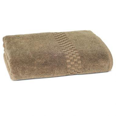 Jacquard Premium 100% Combed Cotton Bath Towels 27x54 wt. 17.0 lbs/dz. Tuscan Earth