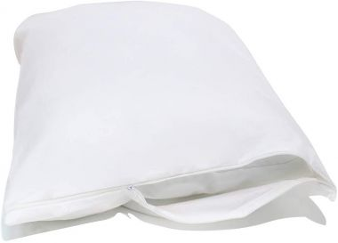 "Supertex™ Zippered Pillow Protector,White, 20""x26"",Standard - Pack of 12"