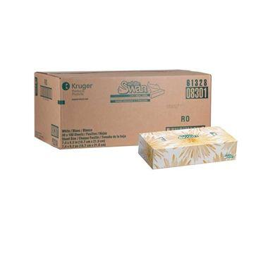 White Swan Facial Tissue White 100/box 30box/case