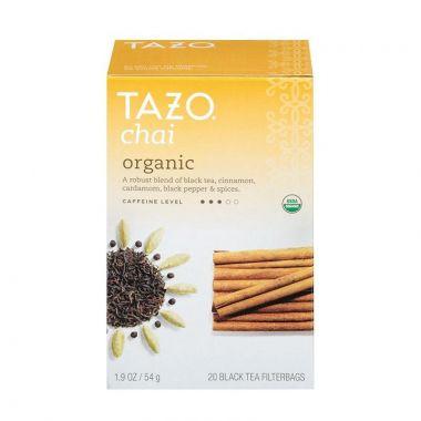 Tazo® Organic Chai Filterbag Tea 24 Count EDTAZOORGCHAI