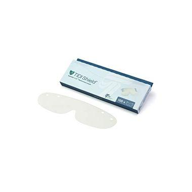 TIDI Dispens-A-Lens Clear (Replacement Eye Shield Only) 100/box
