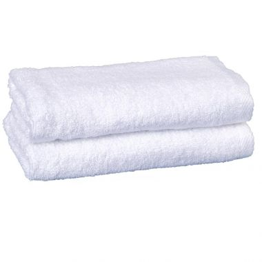 Regal™ 86/14  Luxury Combed Cotton/Polyester Dobby Hem Hand Towel 16x28 wt.4.20 lbs/dz.White - 12/Pack