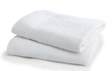Tristar™ 16s Quick Dry Institutional Terry Cotton Bath Towels 22x44 wt 6.0 lbs/dz. White