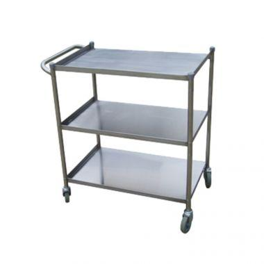 Stainless Steel Utility Cart 3 Shelf