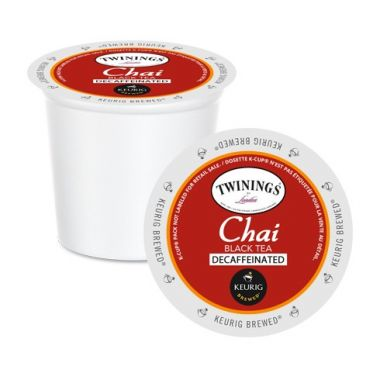 Twinings Decaf Chai Tea K-Cup®EDKTWINCHAIDEC