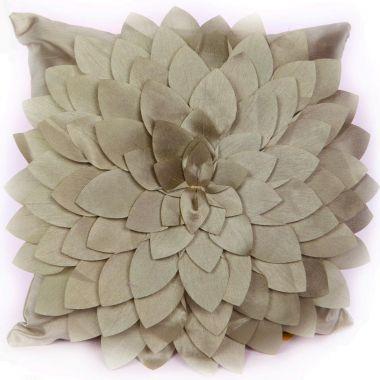 """GOUCHEE Design 90116C Amilia Cushion, 18"""" X 18"""", Aqua"""