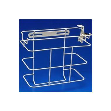 Locking bracket for 11 L (3 Gal.) Multipurpose and 2 & 5 L (2 & 5 Qt.) In-Room Containers