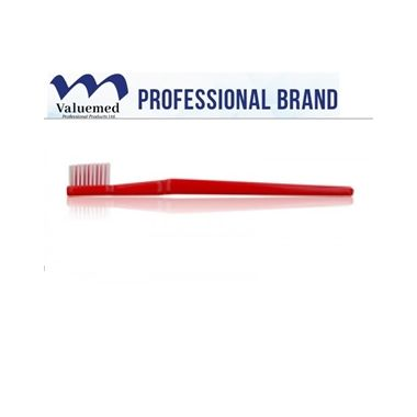 Valuemed Professional Adult Soft Compact Head Toothbrush #802 box/72 Assorted Colors