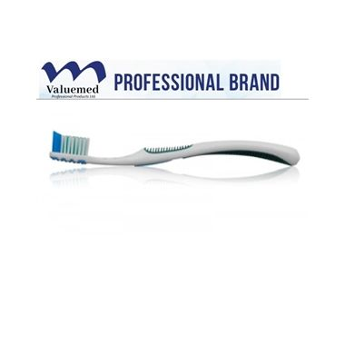 Valuemed Professional Adult Soft Compact Head Toothbrush #804 box/72 Assorted Colors
