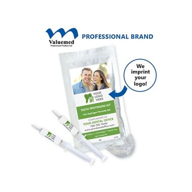 ValueDeluxe Tooth Whitening Kit 12%HP w/ 2x3ml syringes and 1 mouth tray