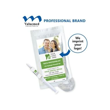 ValueMini Tooth Whitening Kit 12%HP w/ 1x3ml syringe and 1 mouth tray
