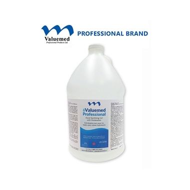 Valuemed Professional Hand Sanitizer Gel with Moisturizers 4L
