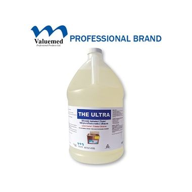 Valuemed Professional THE ULTRA Ultrasonic Instrument Cleaner Concentrate, 4L