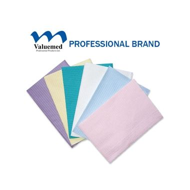 Valuemed Professional Dental Bibs 2 Ply Dusty Rose 500/cs