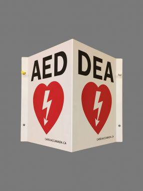 WALL SIGN AED 3-DIMENSIONAL