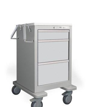 Short & Slim 3 Drawer Economy Cart