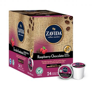 Zavida Coffee Raspberry Chocolate DarkEDKZAVRASCHOC