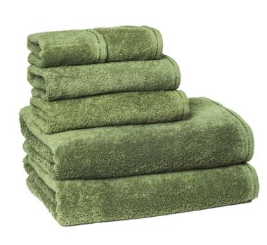 ZEN™ by Merit Collection® 100% Certified Organic Cotton Bath Towel Collection Moss