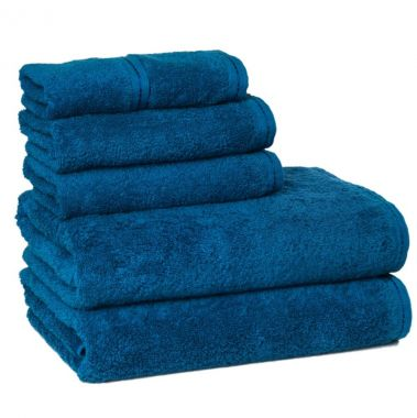 ZEN™ by Merit Collection® 100% Certified Organic Cotton Bath Towel Collection Ocean Blue