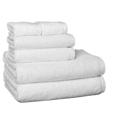 ZEN™ By Merit Collections® 100% Certified Organic Cotton Bath Towel Collection, White
